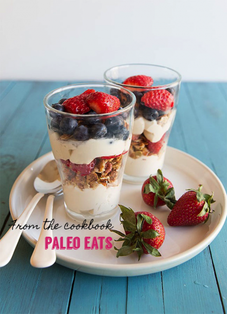 Berry Parfait , Paleo Parents Weekend Wrap Up  6.14 Farmer's Market Must Haves! (And How To NOT Eat Chocolate In Hershey, PA!)