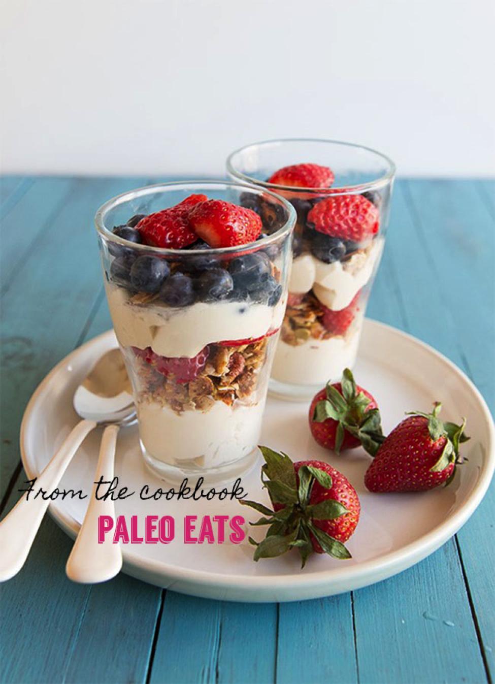 Berry Parfait from Paleo Eats, Guest Post Paleo Parents