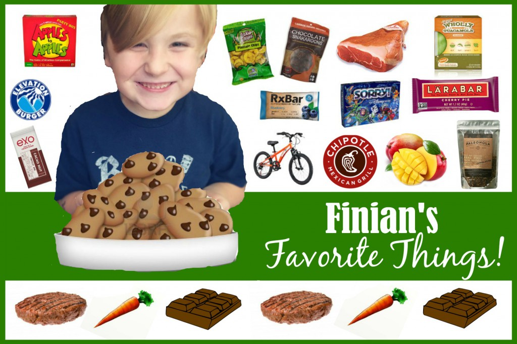 Finian's Favorite Things, Paleo Parents