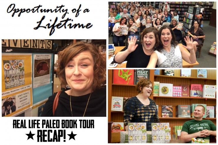 Real Life Paleo Book Tour Recap Feature