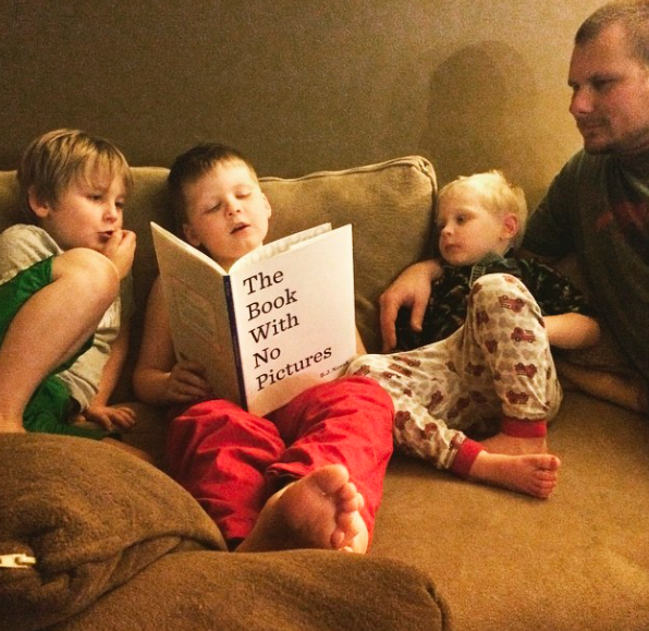 The boys reading together, Paleo Parents