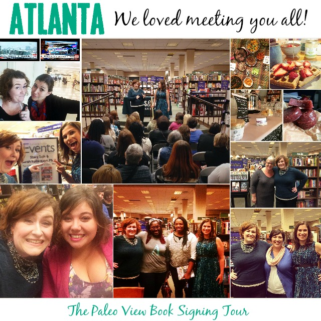 TPV Book Tour in Atlanta GA with Paleo Parents Collage