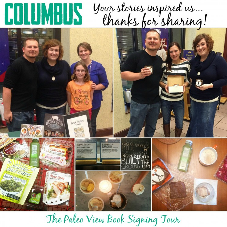 TPV Book Tour in Columbus OH with Paleo Parents Collage