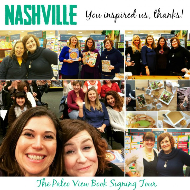 TPV Book Tour in Nashville with the Paleo Parents