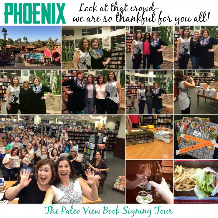 TPV Book Tour in Phoenix with Paleo Parents Collage