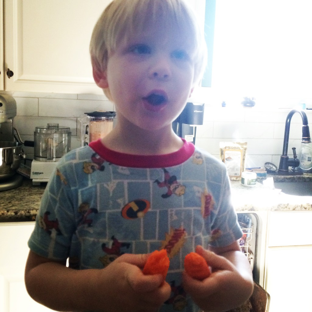 Wesley Eats Carrots on PaleoParents