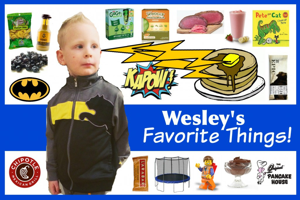 Wesley's Favorite Things