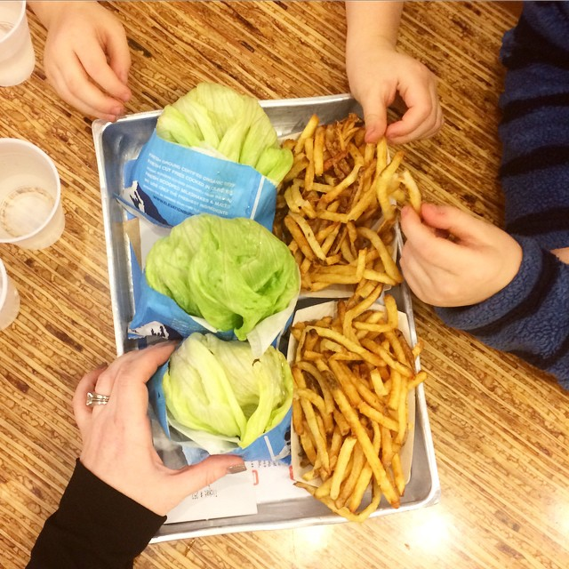 Lettuce Burgers and Grateful, Paleo Parents