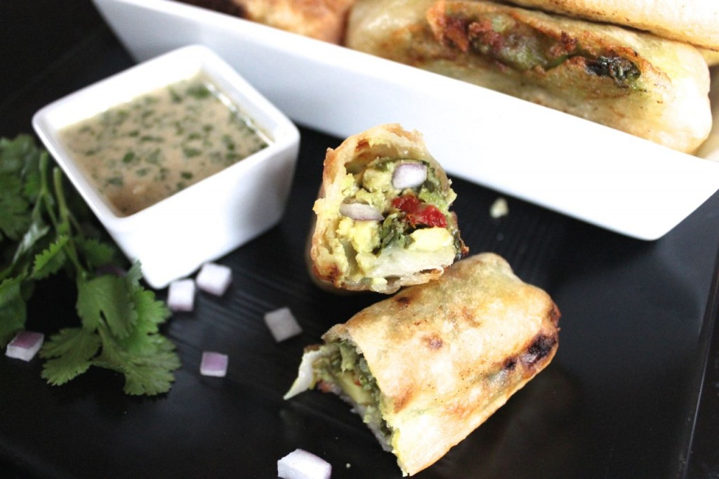 Avocado Egg Rolls by Predominanntly Paleo, as seen on The Cheesecake Factory Recipe Recreation Round-Up by the Paleo Parents