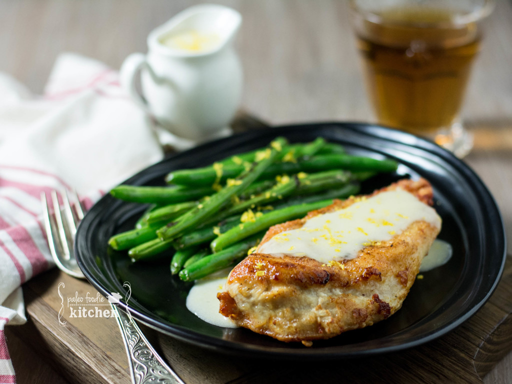 Crispy Chicken Costoletta by Paleo Foodie Kitchen, as seen on The Cheesecake Factory Recipe Recreation Round-Up by the Paleo Parents