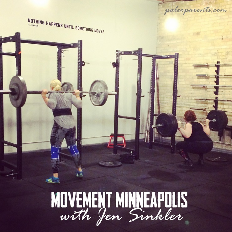 Jen Sinkler and Stacy Squat Smolov on PaleoParents