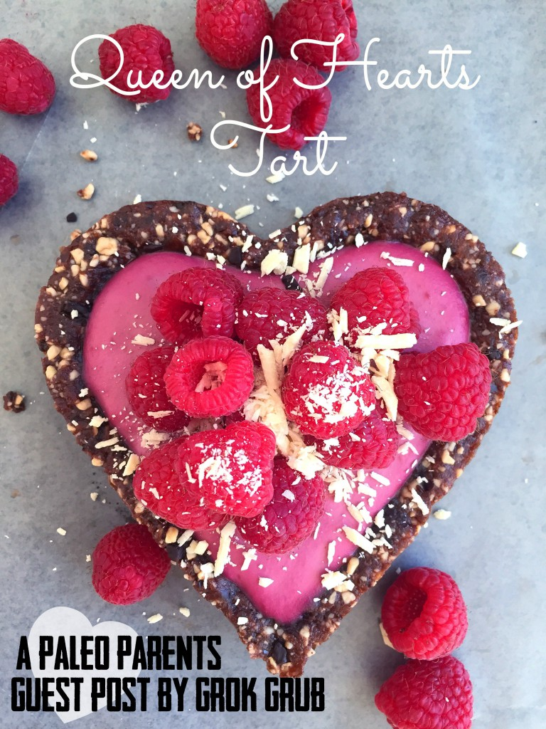 Queen of Hearts Tart Feature,  Paleo Parents Guest Post