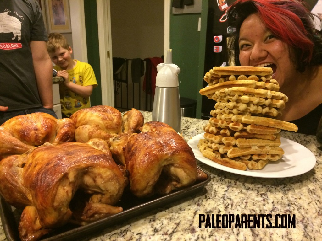 Tutorial Thursday: Chicken and Waffles as seen on Paleo Parents