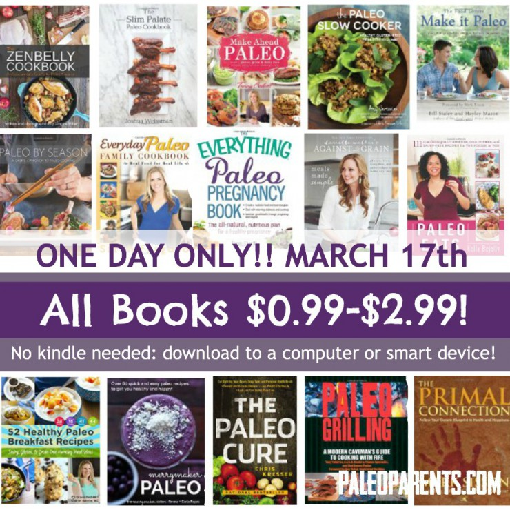 Paleo Books Steals & Deals – One Day Discounts on Top E-Books!