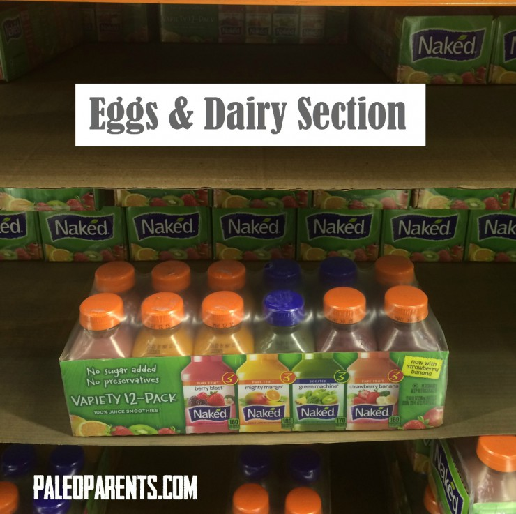 Costco Eggs and Dairy