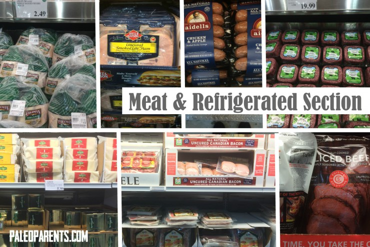 Costco Meat and Refrigerated Section