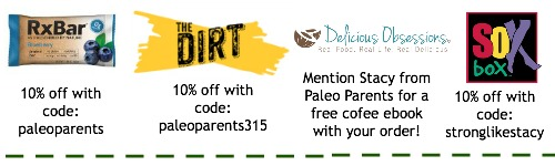 Discounts and Coupons, Paleo Parents Weekend Wrap Up, 3/22: Flippin' WHAT?!