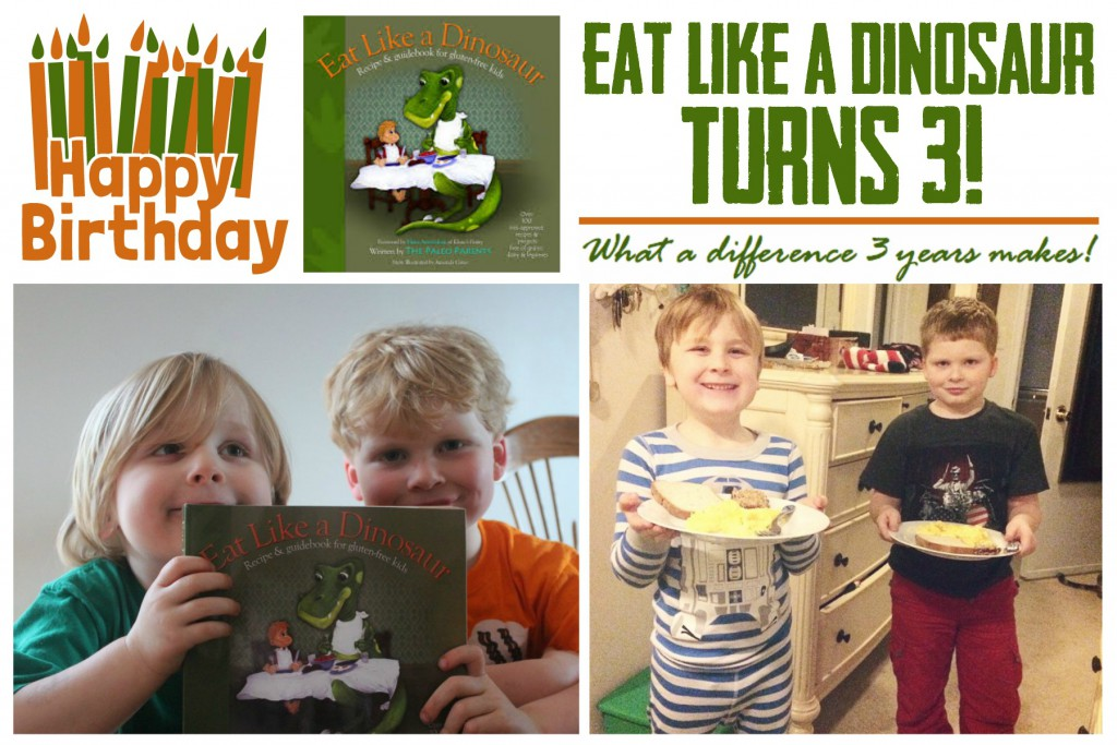 Eat Like a Dinosaur Turns 3!