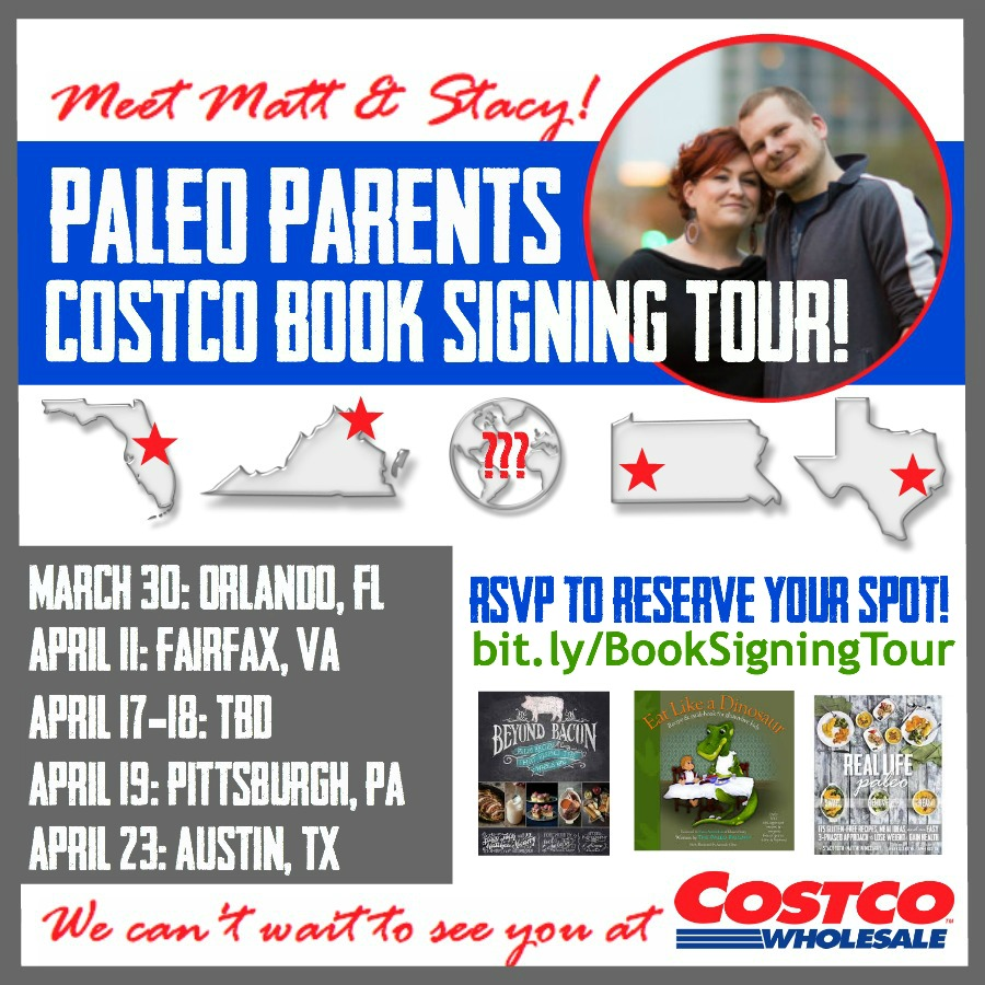 Paleo Parents are Hitting the Road Again - The Costco Tour!