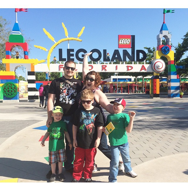 Paleo parents in Legoland, Weekend Wrap Up, 4/5: We took on Disney, and SURVIVED!