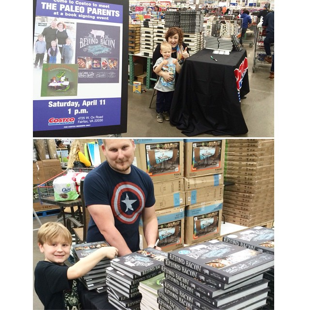 Virginia Costco Signing, Paleo smoked ribs, The WORST Meal We've Had In A LONG Time AND Favorite AFFORDABLE Recipe Ideas! Paleo Parents