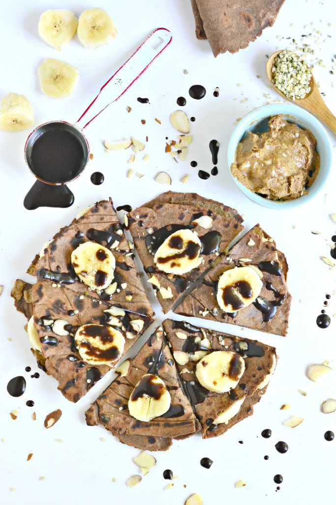 Lightly sweetened with raw honey these Paleo Chocolate Tortillas make quite the dessert, Paleo Parents Guest Post: Paleo Chocolate Tortillas, Fork & Beans