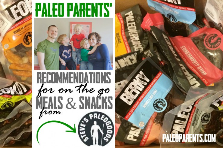 Our Recommended Meals & Snacks from Steve's Paleo Goods as seen on Paleo Parents