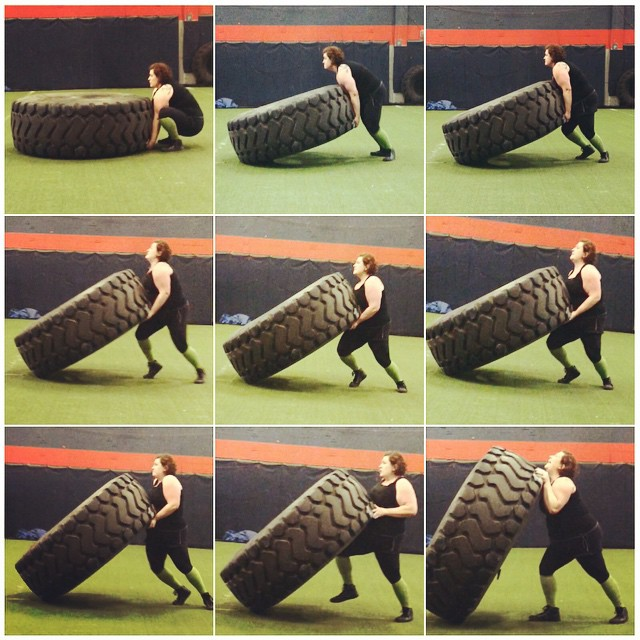 tire flipping, Paleo parents weekend wrap up 5/9: Flippin' WHAT?! Plus, PERFECT Warm Weather Recipes!