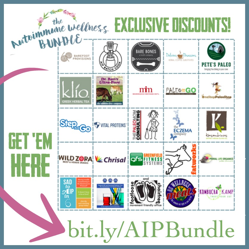 The autoimmune wellness bundle aip bundle discounts square graphic fandeluxe