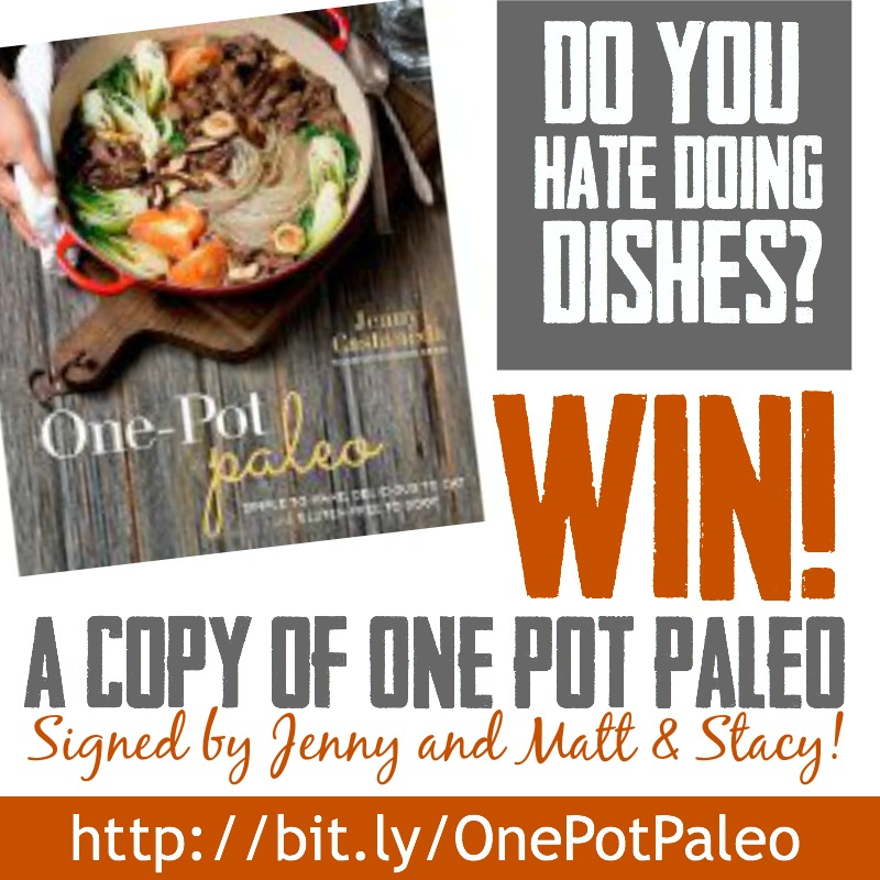 One Pot Paleo Giveaway on PaleoParents