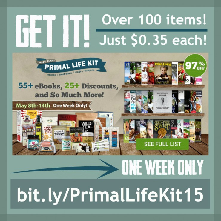 BIG Amazing Bundle May 8-14 ONLY – Primal Life Kit 2015, Only $39.97 with over 100 items!