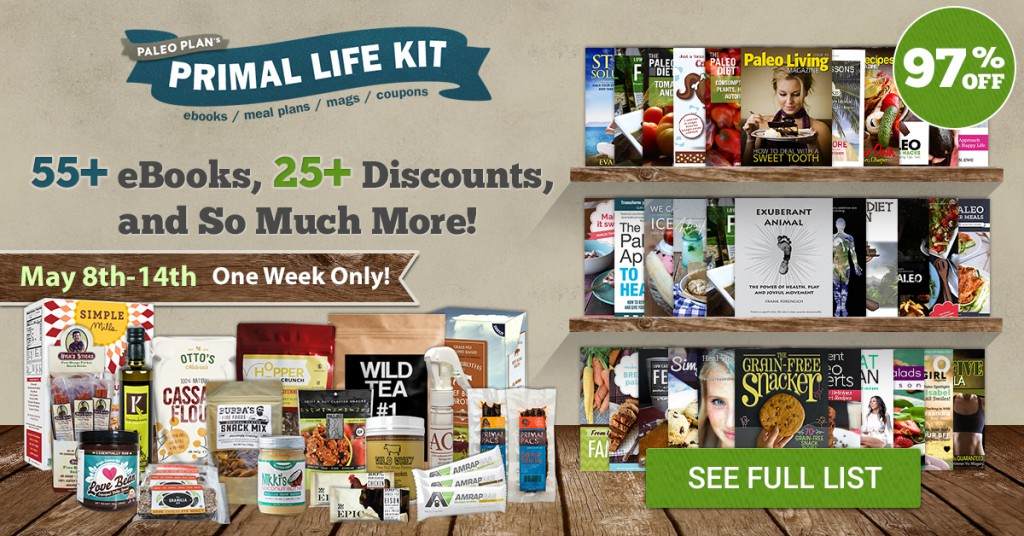 BIGGEST Bundle EVER - Primal Life Kit 2015, Only $39.97 with over 100 items!