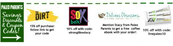 Paleo food discounts coupon codes, Paleo Parents Weekend Wrap Up: All about Paleo Pasta