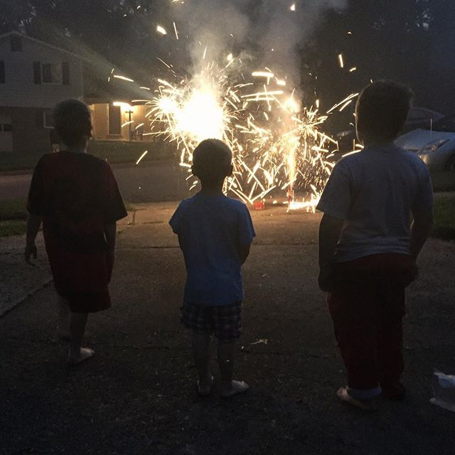 4th of july fireworks, Paleo Parents Weekend Wrap up: The Best SUMMER PARTY TREAT & All About Summer BERRIES!