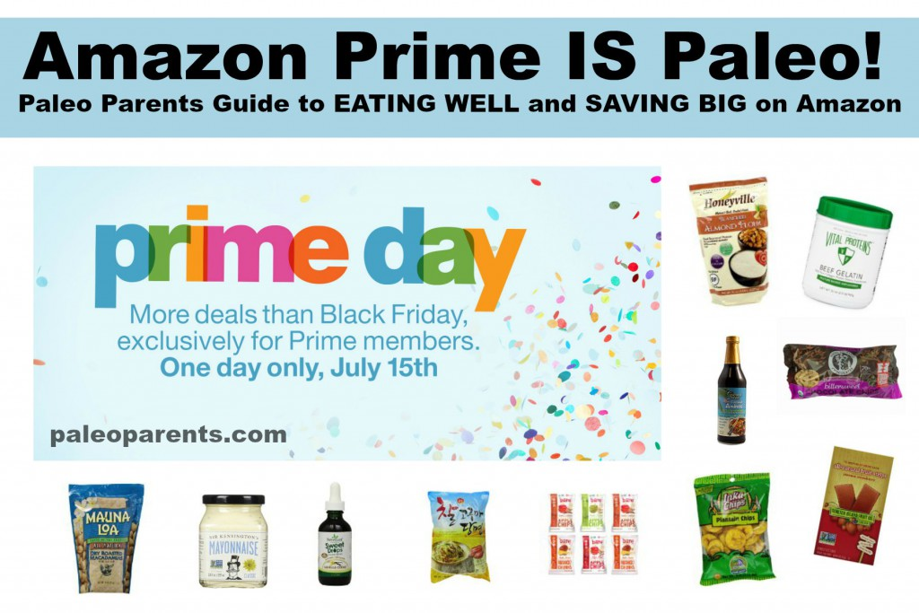 Amazon Prime is Paleo Feature