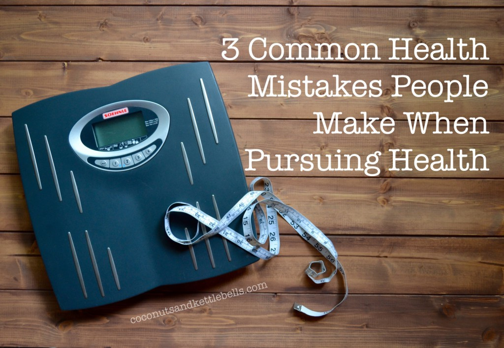 Guest Post: 3 Common Mistakes People Make When Pursuing Health, Coconuts and Kettlebells
