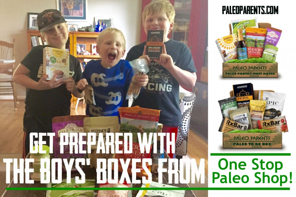 Get Prepared with the Boys' Boxes from One Stop Paleo Shop!