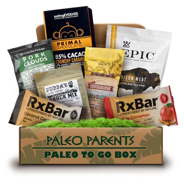 One Stop Paleo Shop, Paleo Parents 'Paleo to Go' Box
