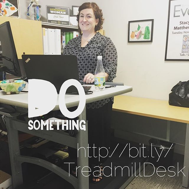 Treadmil desk is Paleo, Paleo Parents Weekend Wrap Up 8.9: Stacy Is Doing WHAT In Her Office?! Plus, FREE & CHEAP Books.