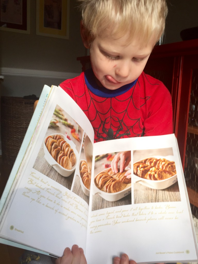 Mini Cinnamon Pancake Bake from Juli Bauer's Paleo Cookbook, Review by Paleo Parents
