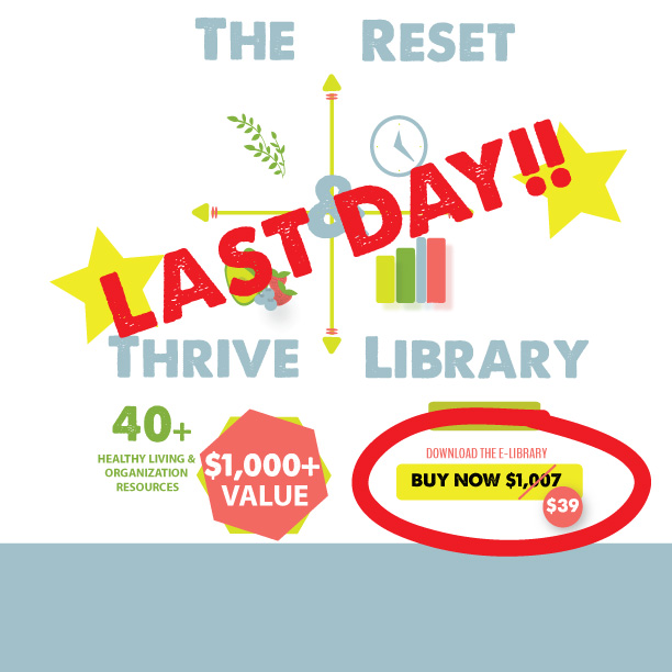 What people are saying about The Reset & THRIVE Library (LAST CALL!)