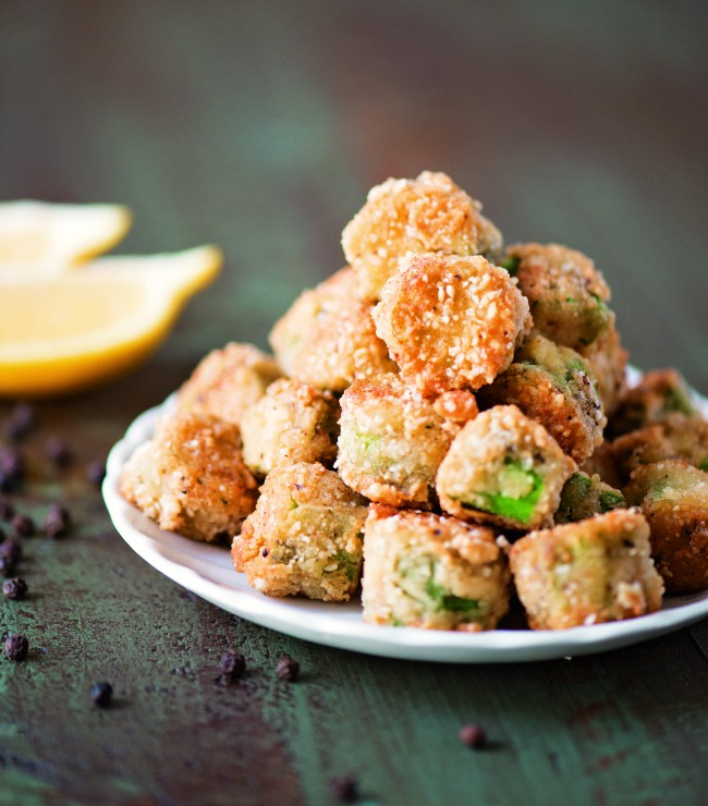 Lemon Pepper Fried Okra copy