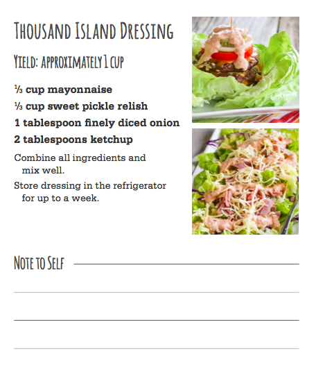 how to make thousand island dressing without relish