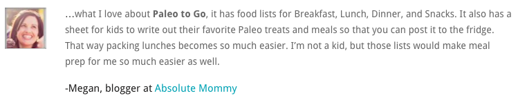 Paleo to go Review, Paleo Travel Must-Haves! Paleo Parents