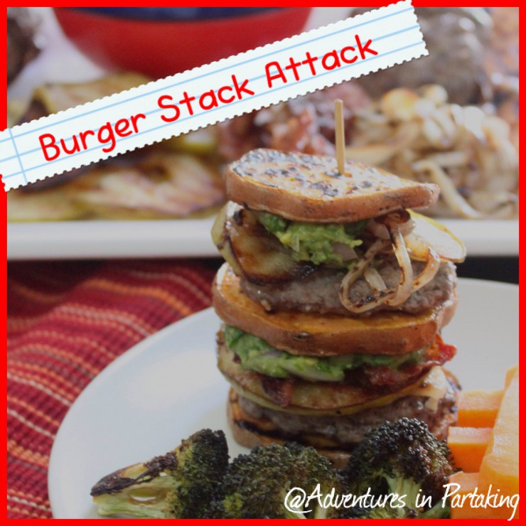 Guest Post: Burger Stack Attack {Meal & Game!}, Adventures in Partaking