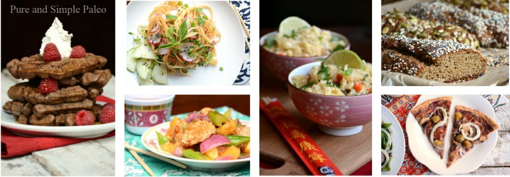 cookbook collage, Paleo Parents Guest Post, Tahini Lamb Sliders, Forest and Fauna