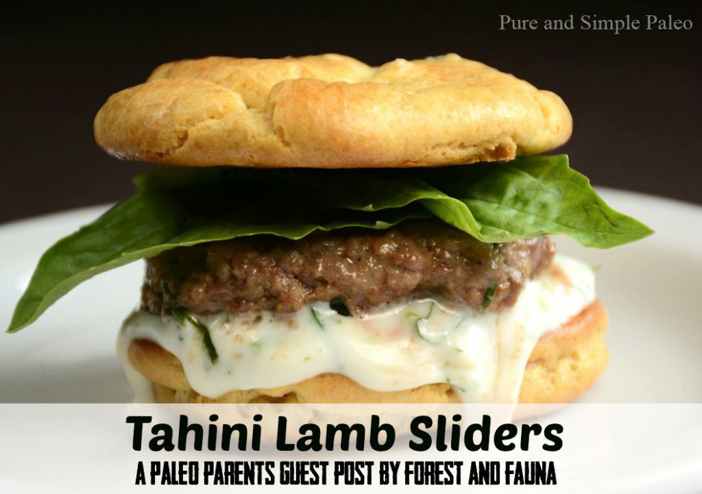 Guest Post, Tahini Lamb Sliders, Forest and Fauna