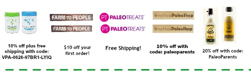Discounts and coupon codes, Our BEST Cinnamon Recipes! Paleo Parents Weekend Wrap Up
