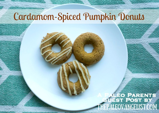 Guest Post: Cardamom-Spiced Pumpkin Donuts (or… how I survive fall in the Northeast), Paleovangelist