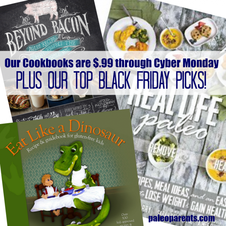 Our Cookbooks are $.99 through Cyber Monday – PLUS our top Black Friday Picks!